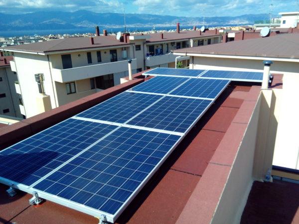 Fotovoltaico 3 kw loc. Arghillà Reggio Calabria